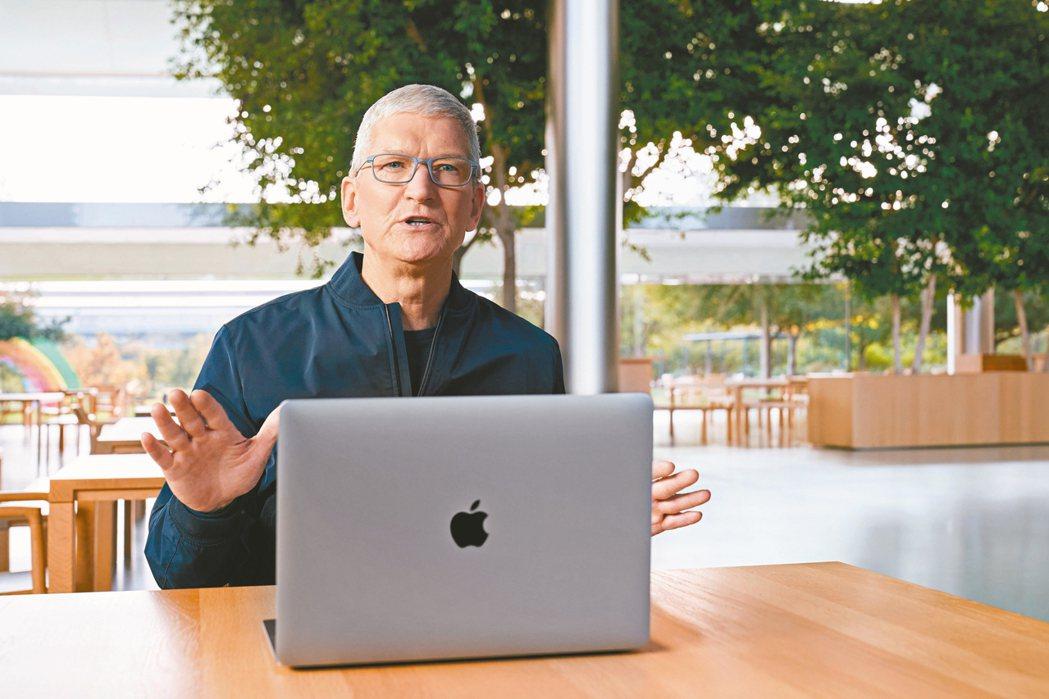 蘋果執行長庫克 路透