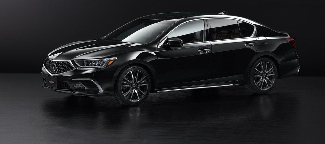 Honda Legend。 摘自Honda Japan