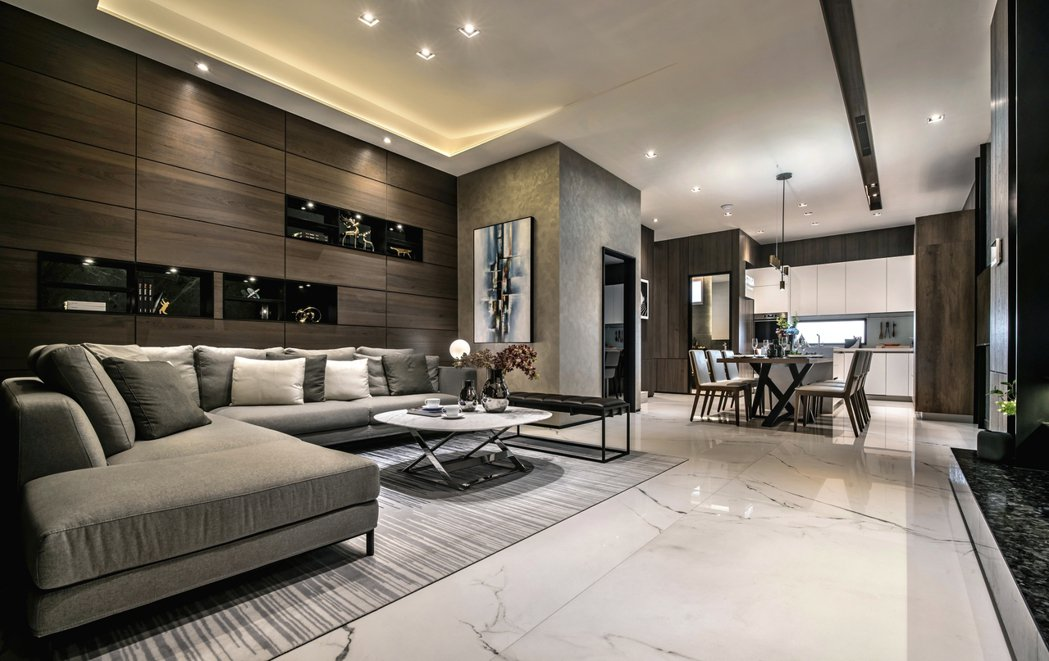 奢華的室內規劃設計,打造精品等級的智慧別墅。