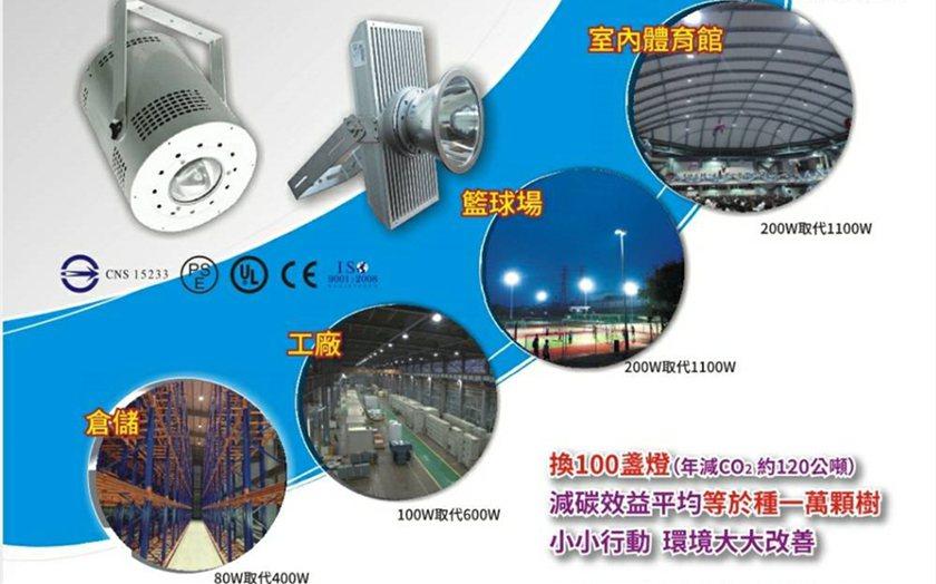 軒豊LED搭配智慧控制,最高可省電達90%,現正免費提供效益分析。 業者/提供
