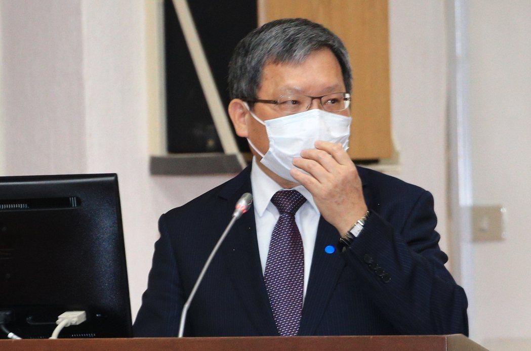 財政部長蘇建榮。聯合報系資料照/記者陳正興攝影