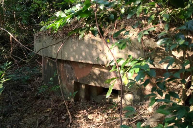 日軍第50師團「石頭營」要塞的機槍堡。圖/林炫耀提供