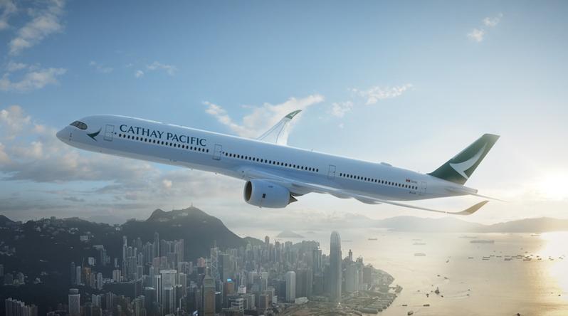 國泰航空今天宣布,將開辦高雄往返香港航班。圖/國泰航空提供
