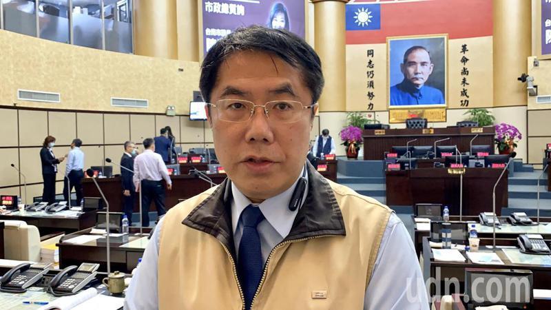 台南市長黃偉哲表示,當初香港回歸之後的高度自治承諾已成泡影。記者鄭維真/攝影