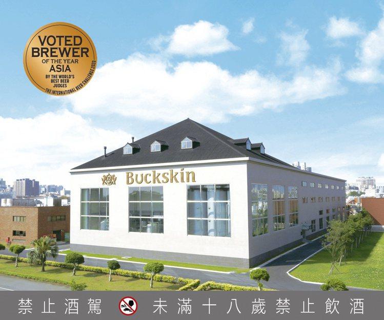 柏克金啤酒連兩年獲得英國IBC國際啤酒挑戰賽的「亞洲年度最佳酒廠」肯定。圖 / ...