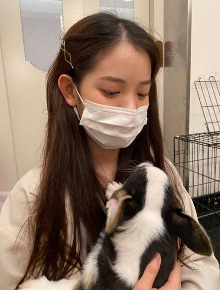 王彩樺的大女兒庭庭相貌出眾。圖/摘自臉書
