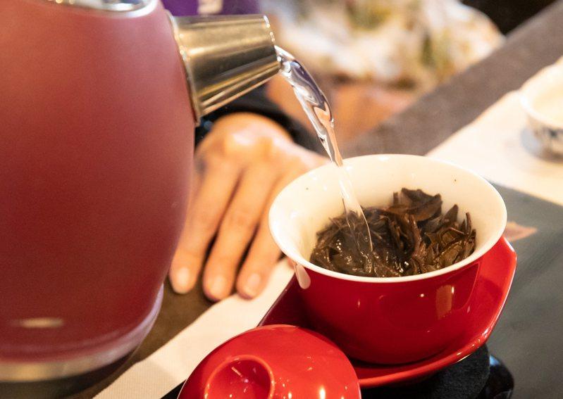 桃園紅茶入口溫潤回甘不苦澀。圖/桃園市政府新聞處提供