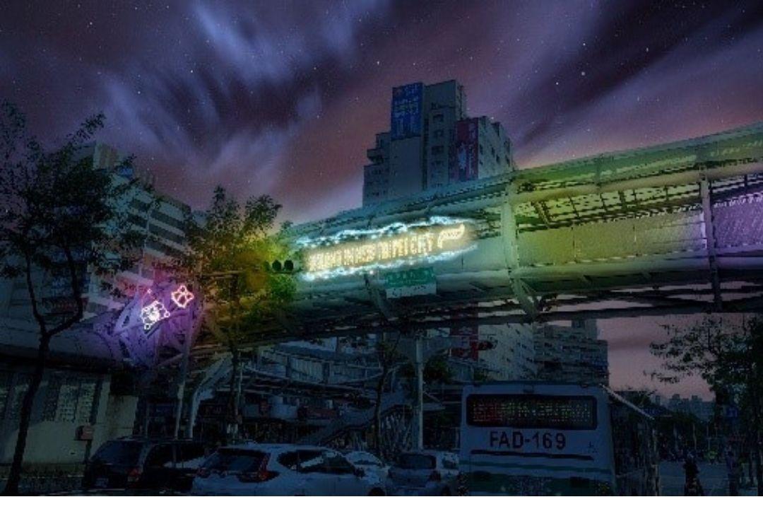 耶誕光廊 圖/新北市觀光旅遊局