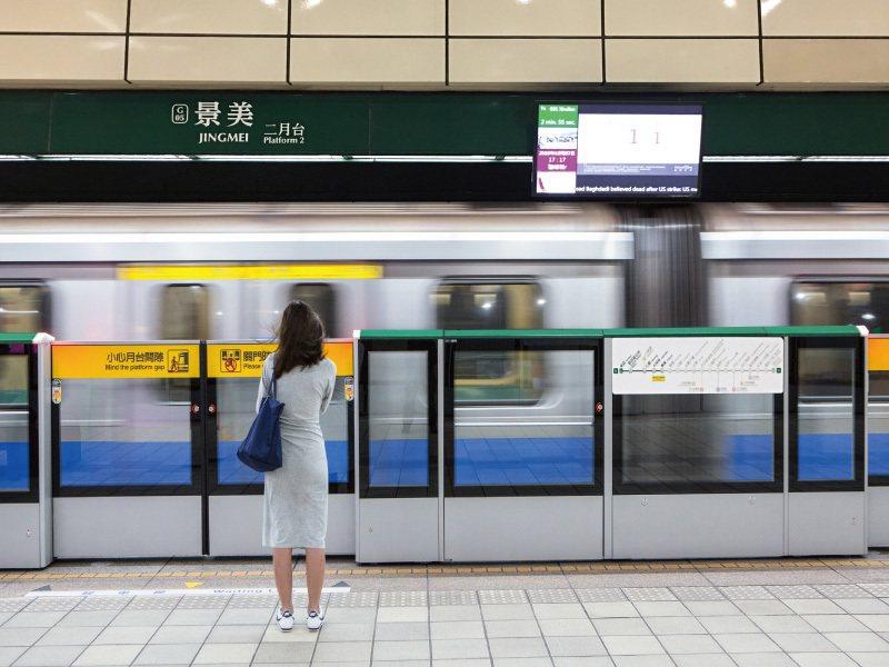 景美捷運站。 圖/玖原建設有限公司提供