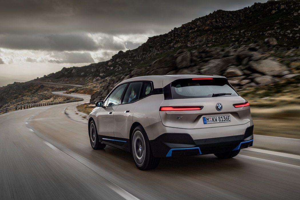 BMW iX。 摘自BMW