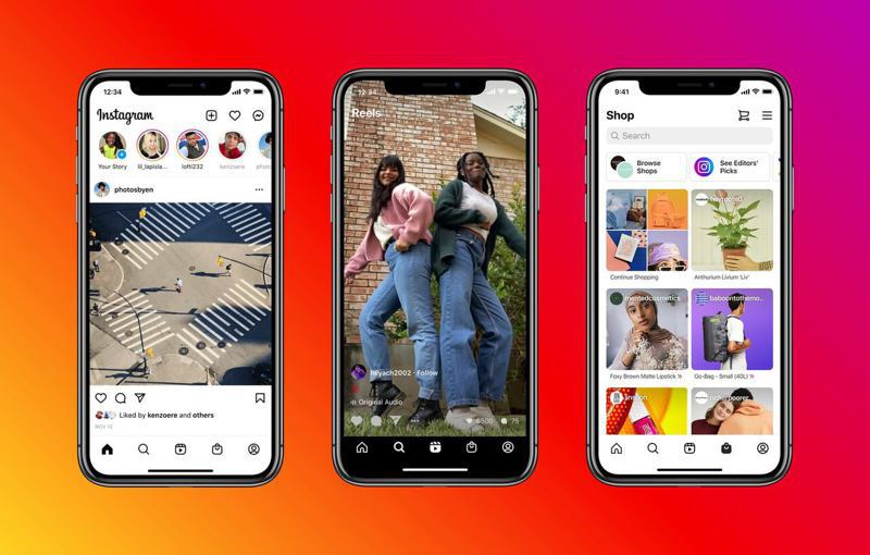 Instagram將迎來10年來的介面大改版。圖/擷自Instagram臉書
