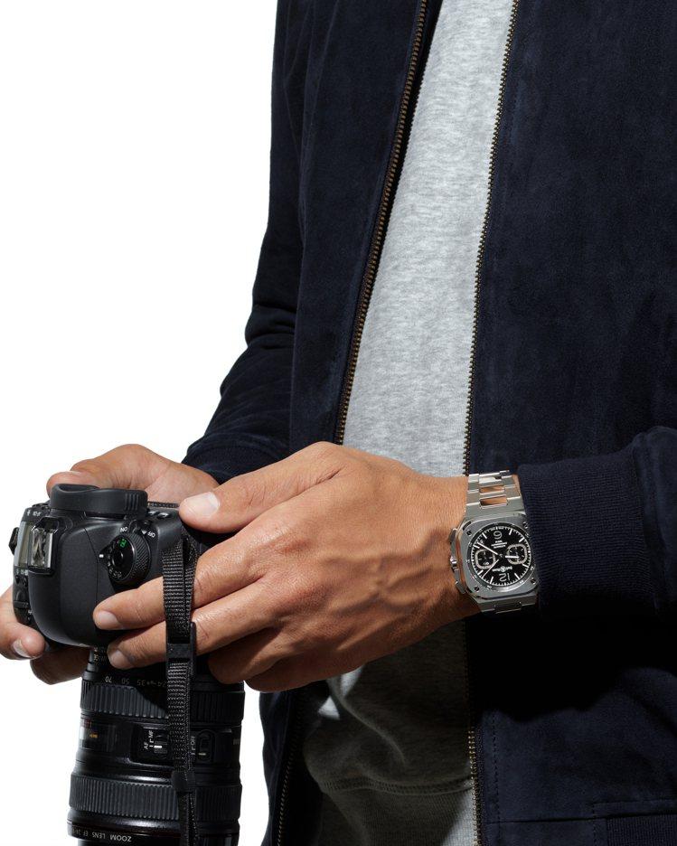 一只腕表不僅是時間的工具,更是風格的具象、個人氣場的展示。圖 / Bell & ...