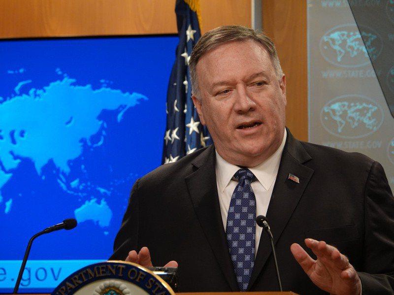 美國國務卿龐培歐12日接受電台專訪,談到美國對台灣政策時表示,台灣不是中國的一部分,還說這是自雷根政府時就承認的對台政策。圖/聯合報系資料照片