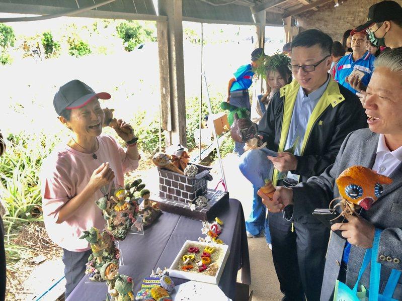 八卦山體驗小旅行各社區結合當地特色和美食,帶給遊客深度的旅遊體驗。圖/參山國家風景區提供