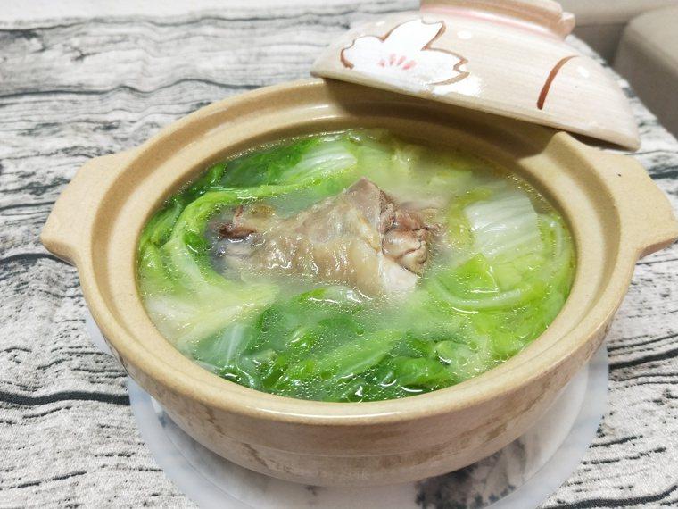 干貝白菜雞湯 圖/陳芸英提供