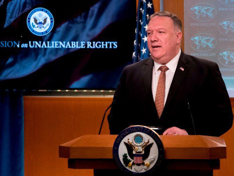 美國國務卿龐培歐是在接受保守派電台主持人休伊特專訪時表示,台灣從來就不是中國的一部分。法新社