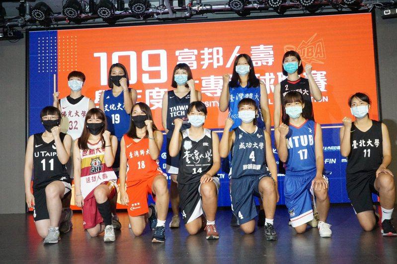 世新與文化仍是本學年UBA公開女一級奪冠大熱門。記者劉肇育/攝影