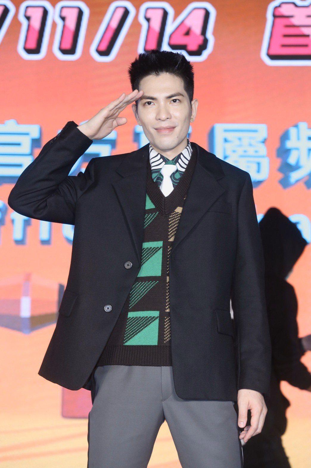 蕭敬騰斜槓YouTuber,今於信義威秀廣場舉辦快閃。記者林俊良/攝影