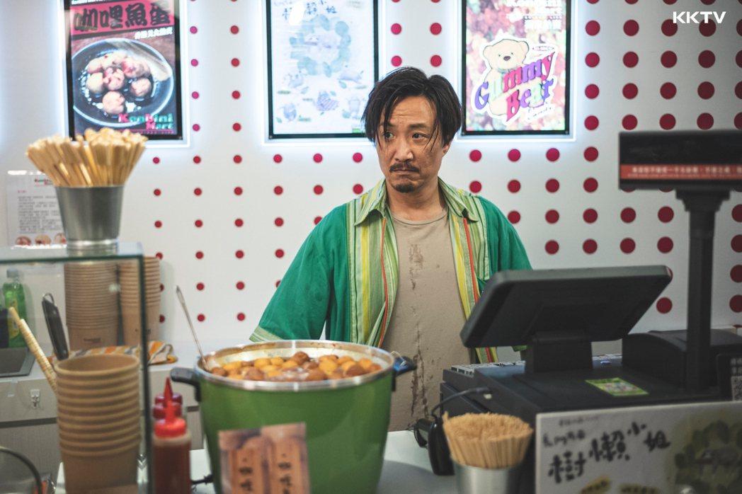 鄭中基回歸小螢幕,演出「暖男爸爸」。圖/KKTV提供
