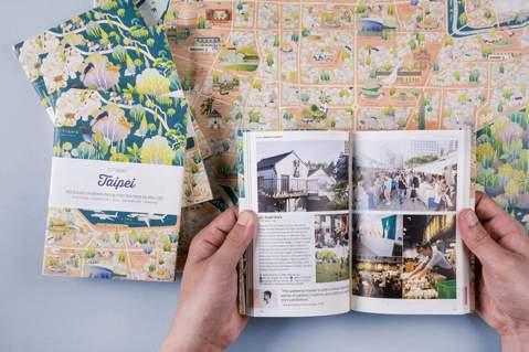 由60位創意人推薦喜好地點的城市指南《CITIx60:Taipei》。圖/李擴提...