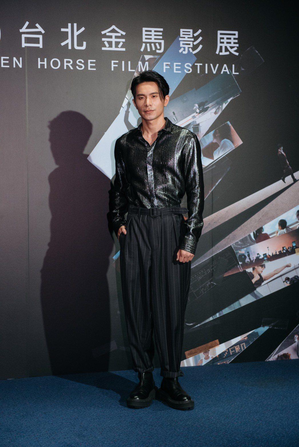 姚淳耀在「返校」影集飾演一名充滿理想抱負的老師。圖/金馬執委會提供
