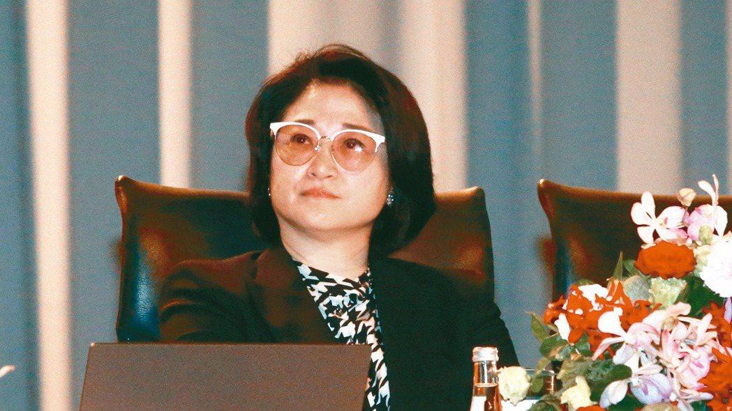 裕隆集團董事長嚴陳莉蓮。(本報系資料庫)
