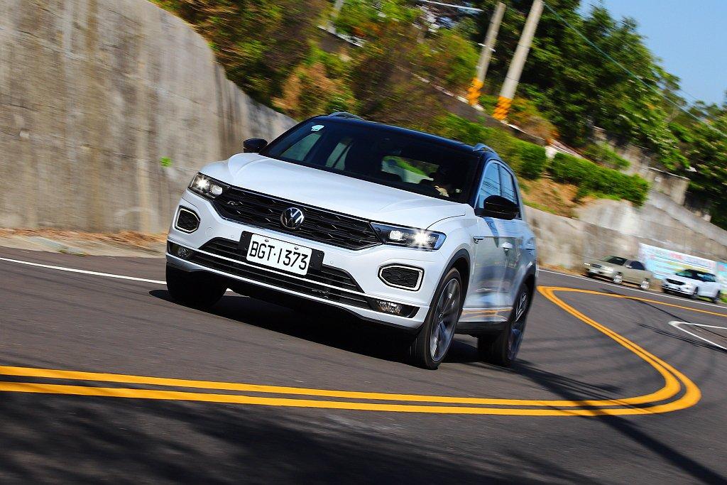 等待許久終於導入的福斯T-Roc,成為品牌在台灣市場的第四款SUV。 記者張振群...