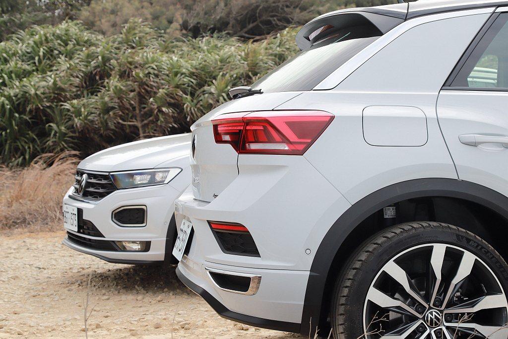 跑車化的車頂線條造就類掀背車尾的斜度之外,尾門上更刻意延伸出鴨尾造型。 記者張振...