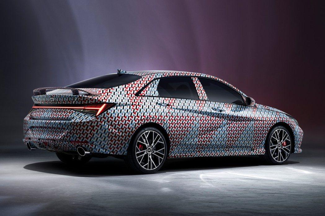 全新Hyundai Elantra N預計在近期就會發表。 摘自Hyundai