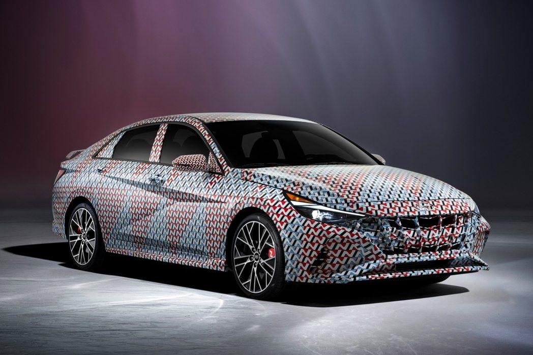 全新Hyundai Elantra N預告發表。 摘自Hyundai