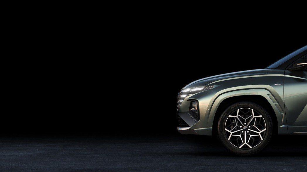 全新Hyundai Tucson N Line預告發表。 摘自Hyundai