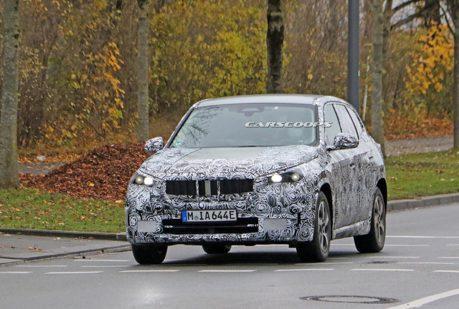 BMW iX1偽裝現身 純電大軍接踵而來!