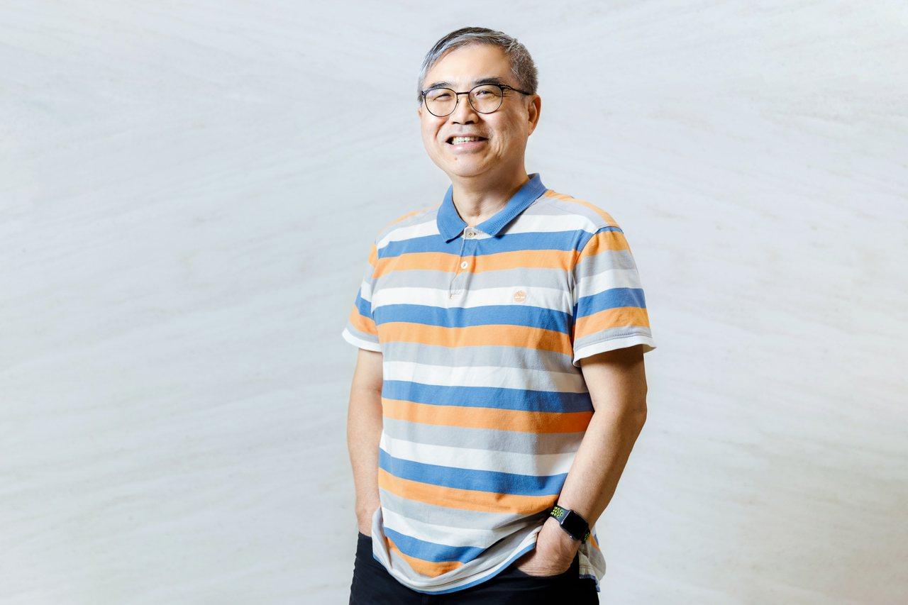 蕭世斌,現任「怪老子理財」站長,50歲達成財富自由並提早退休。 記者陳軍杉/攝影