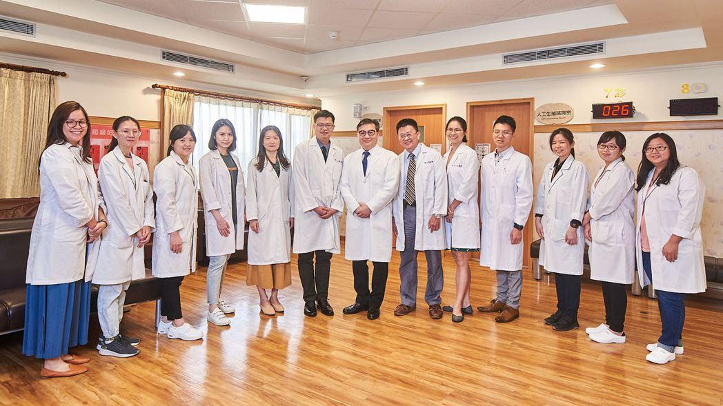 沈玉琳誇高榮生殖醫學團隊耐心且專業。圖/高雄榮民總醫院提供