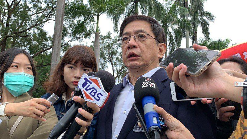 台大校長管中閔表示,學生不幸事件發生後,學校已成立專案小組體檢校園安全,並加強學生心理輔導。記者趙宥寧/攝影