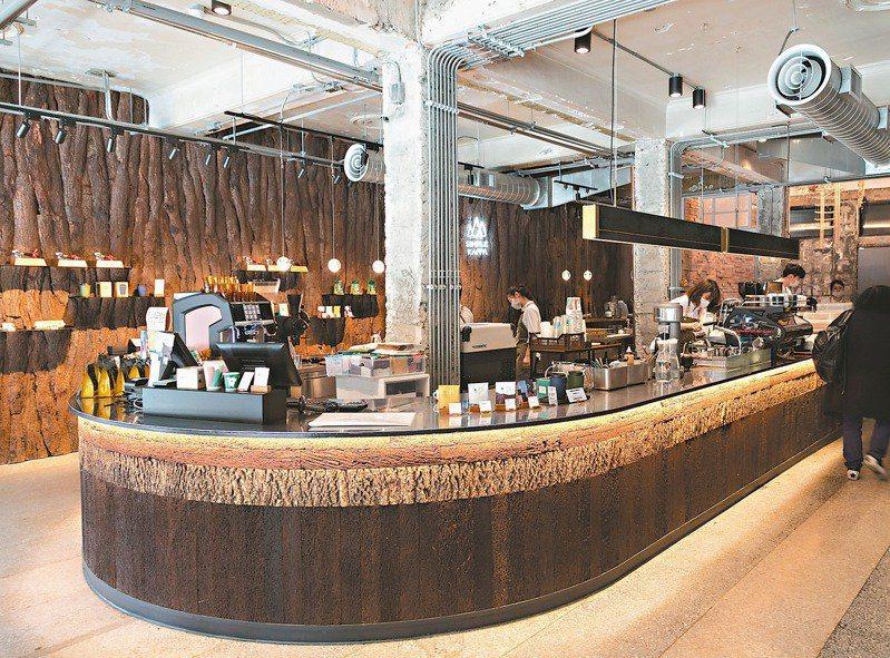 Simple Kaffa興波咖啡勇奪世界最佳咖啡館。報系資料照片