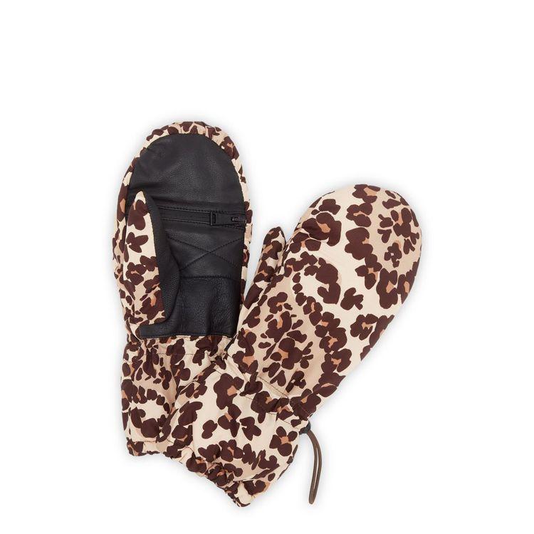 FENDI Leopesley手套,價格店洽。圖/FENDI提供