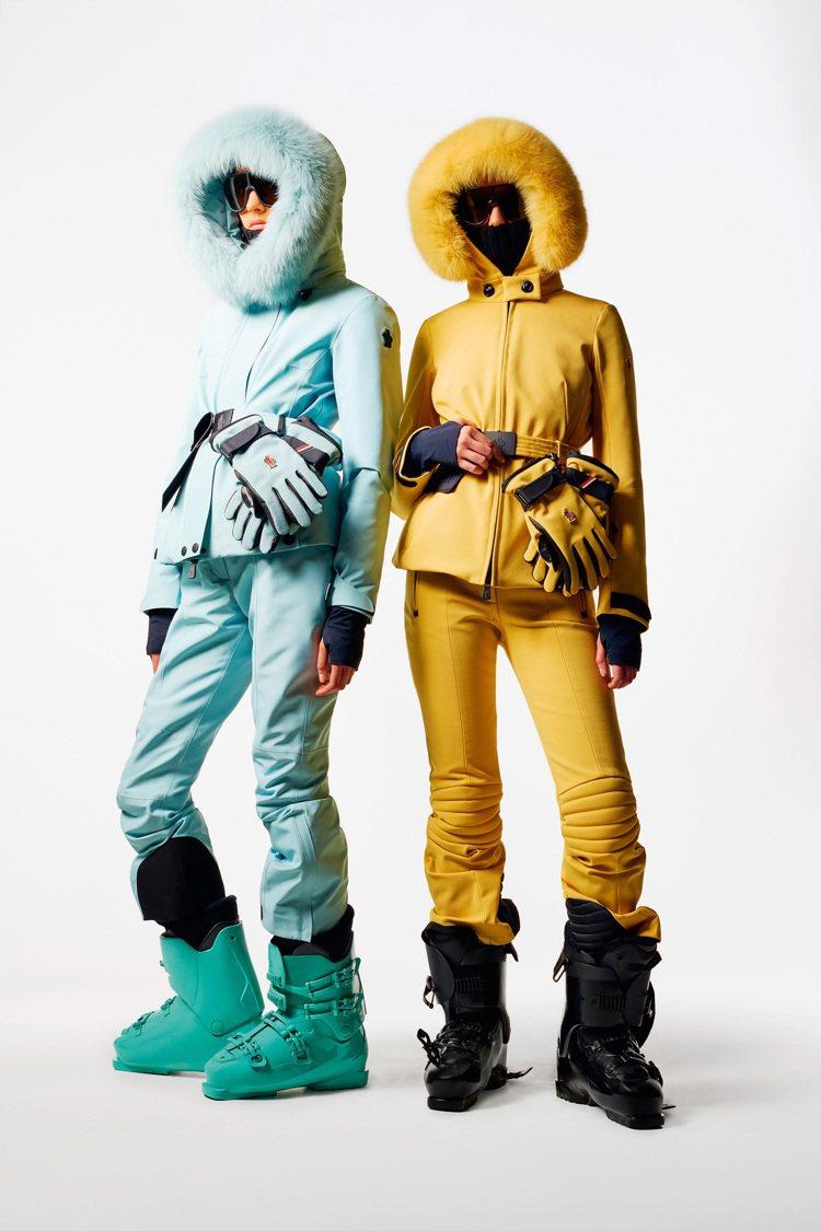MONCLER Grenoble滑雪系列的女裝。圖/MONCLER提供