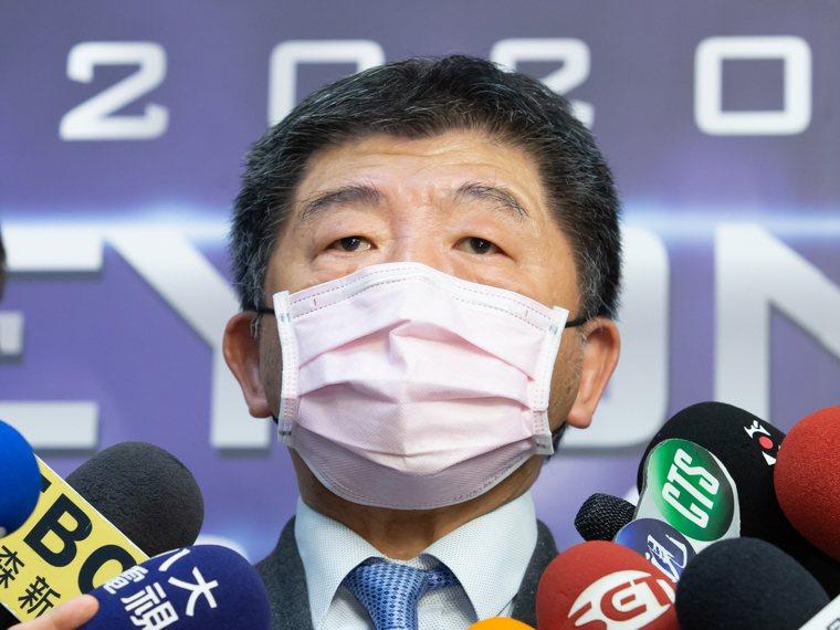 衛福部長陳時中今參與國際生醫智能加速器活動。記者季相儒/攝影