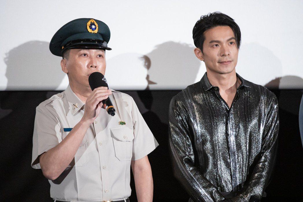 趙正平(左)、姚淳耀在「返校」影集映後座談分享心得。圖/公視提供