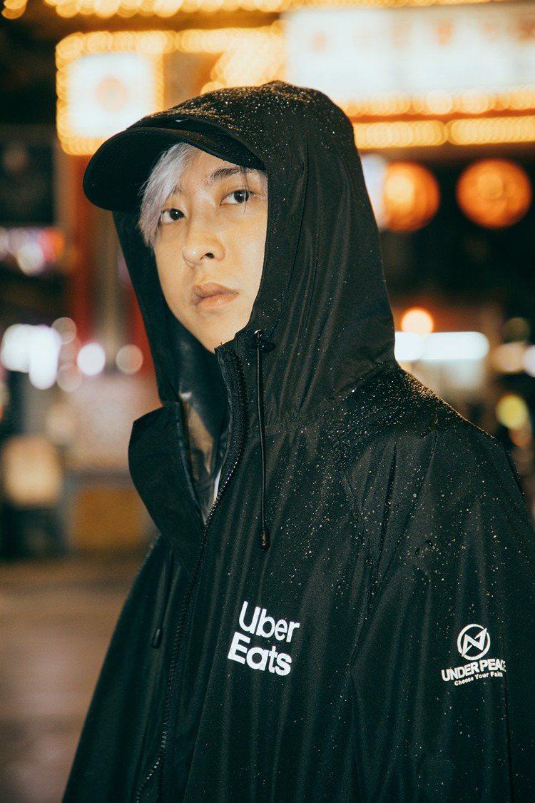 UNDER PEACE與美食外送平台Uber Eats合作,推出只送不賣的聯名潮...
