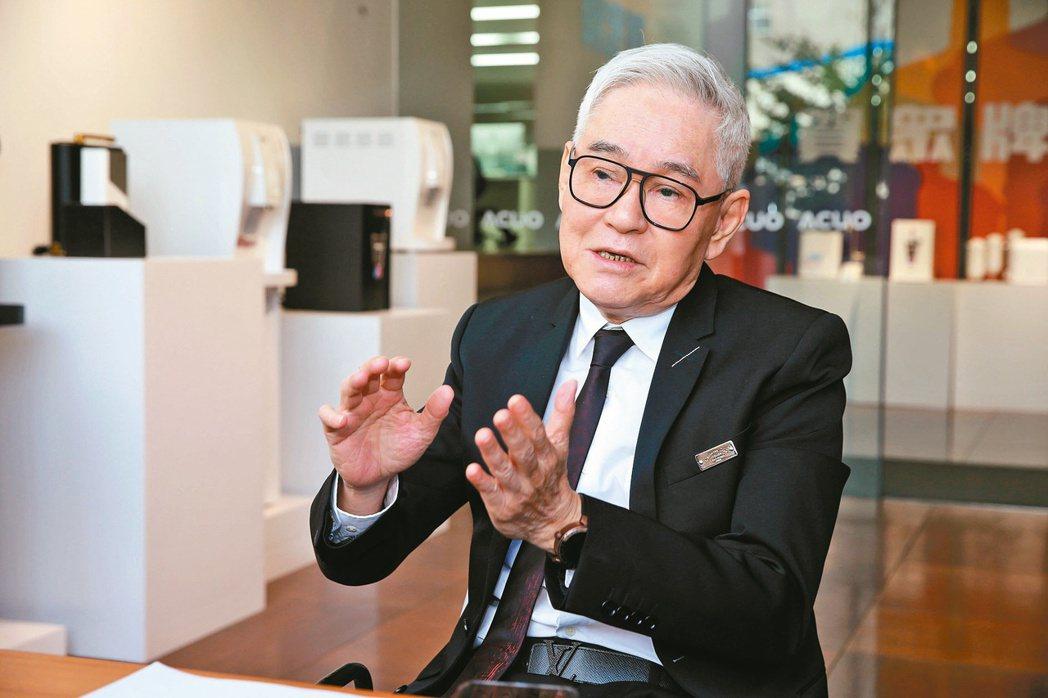 賀眾總經理王志耀。記者邱德祥/攝影