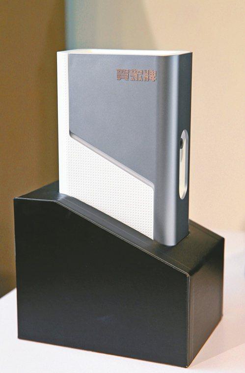 賀眾與工研院攜手推出新一代UVC LED極效殺菌模組。記者邱德祥/攝影