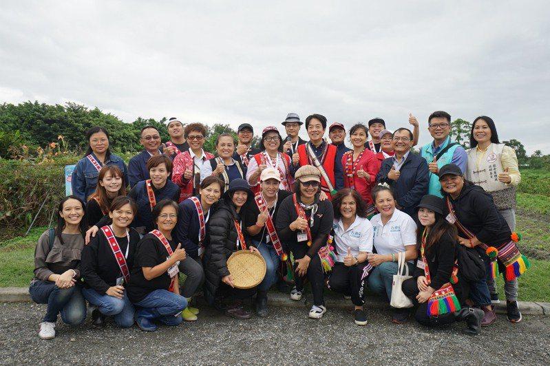 副總統賴清德今天到花蓮參觀保種基地,表示希望深入部落,為原住民解決問題。記者王燕華/攝影