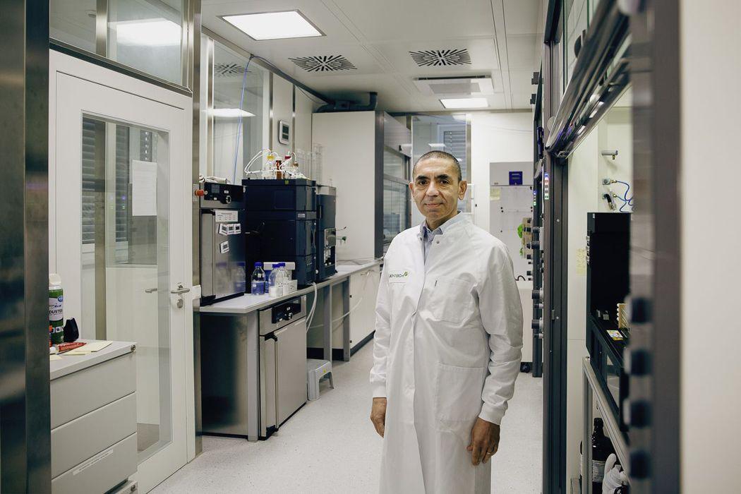 BioNTech執行長沙辛(Ugur Sahin)。圖片擷自華爾街日報