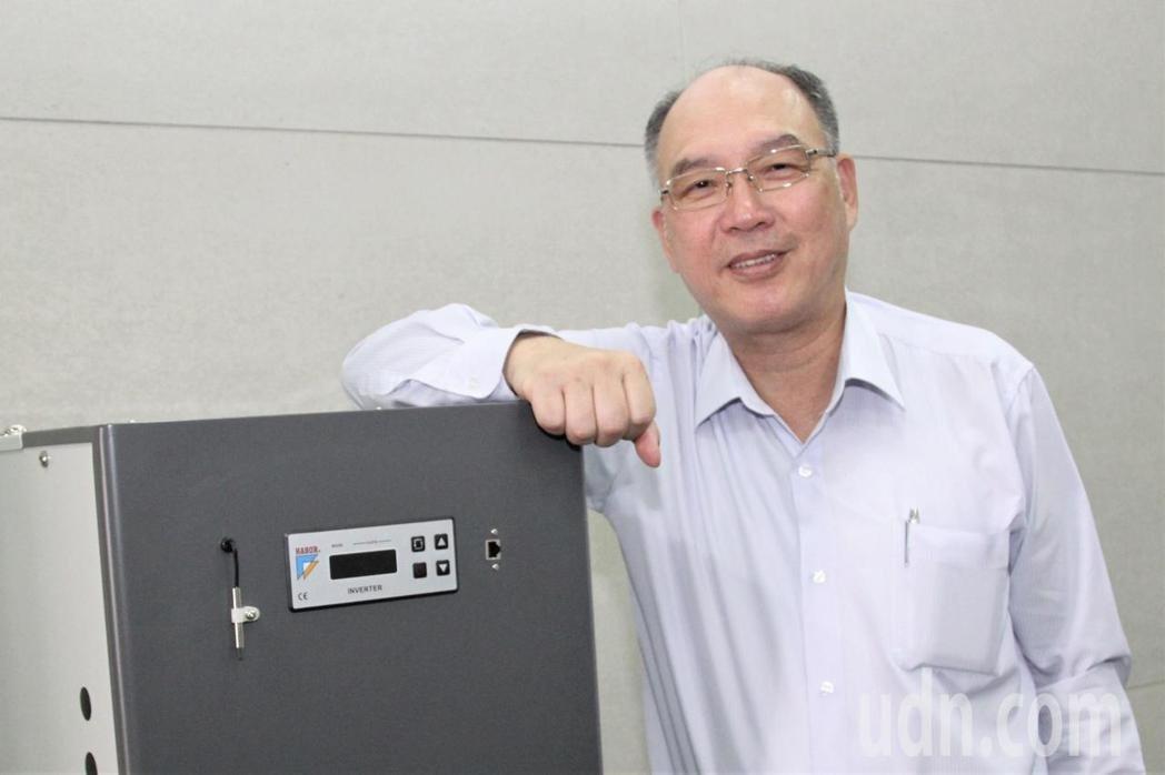 台灣區工具機暨零組件公會理事長許文憲提建言。本報資料照