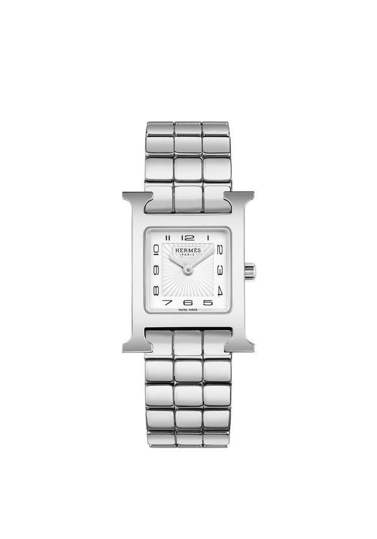 Heure H精鋼腕表,10萬3700元。圖/愛馬仕提供