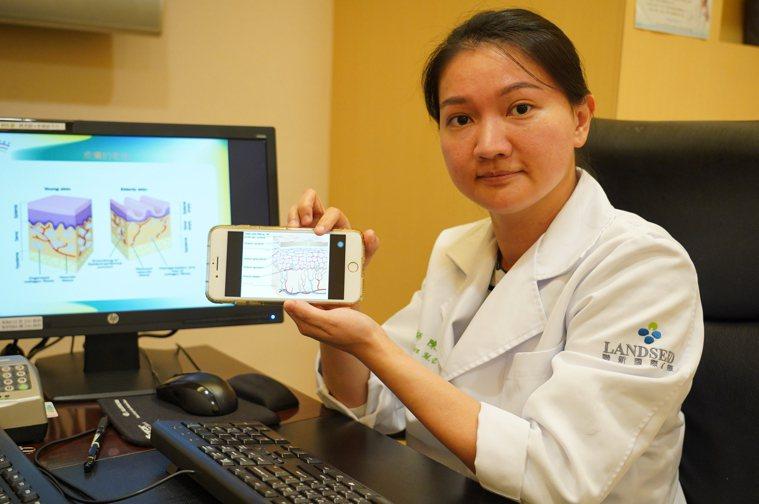 聯新國際醫院皮膚科主治醫師陳文惠指出,肌膚在秋冬季節的最大課題就是對抗乾燥。圖/...