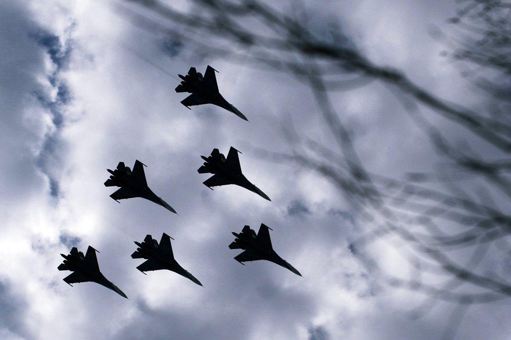 Su-27的示意資料圖。衣索比亞空軍用來空襲提格雷軍的主力戰機也是同型。 圖/法...