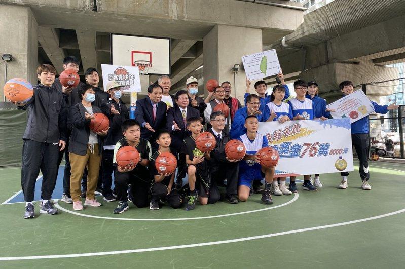 原客青(少)年3X3籃球賽下月開打,今天舉行賽前記者會。記者曾思儒/攝影